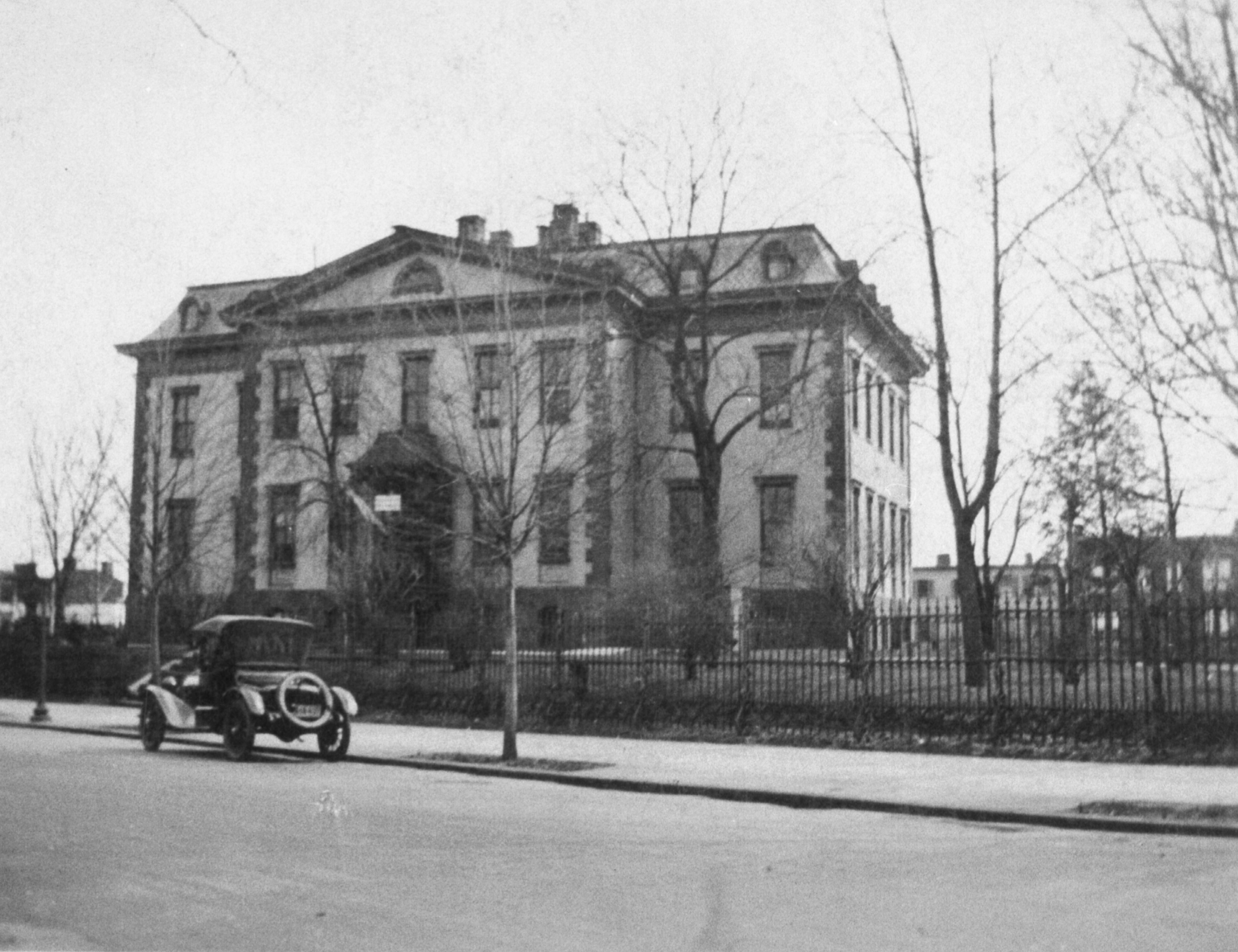 Old Naval Hospital - Undated Photograph - Northwest