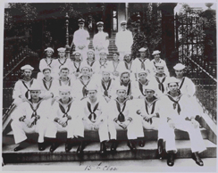 Graduating class photo of the Hosptial Corps Training School 15th Class