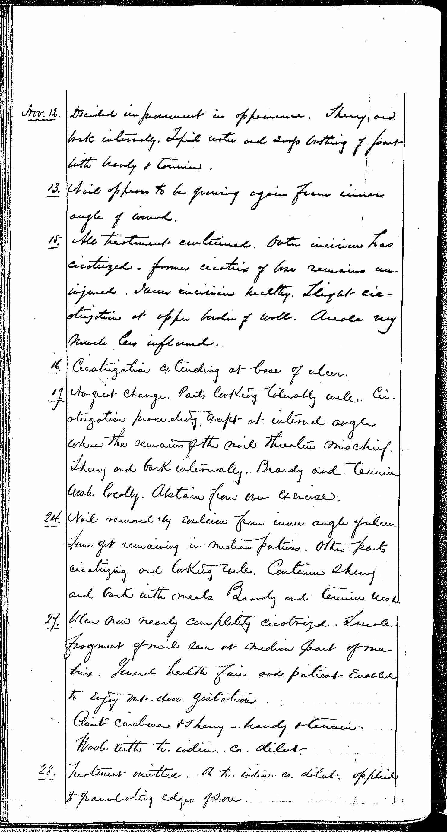 Entry for Robert S. Anderson (page 6 of 15) in the log Hospital Tickets and Case Papers - Naval Hospital - Washington, D.C. - 1868-69