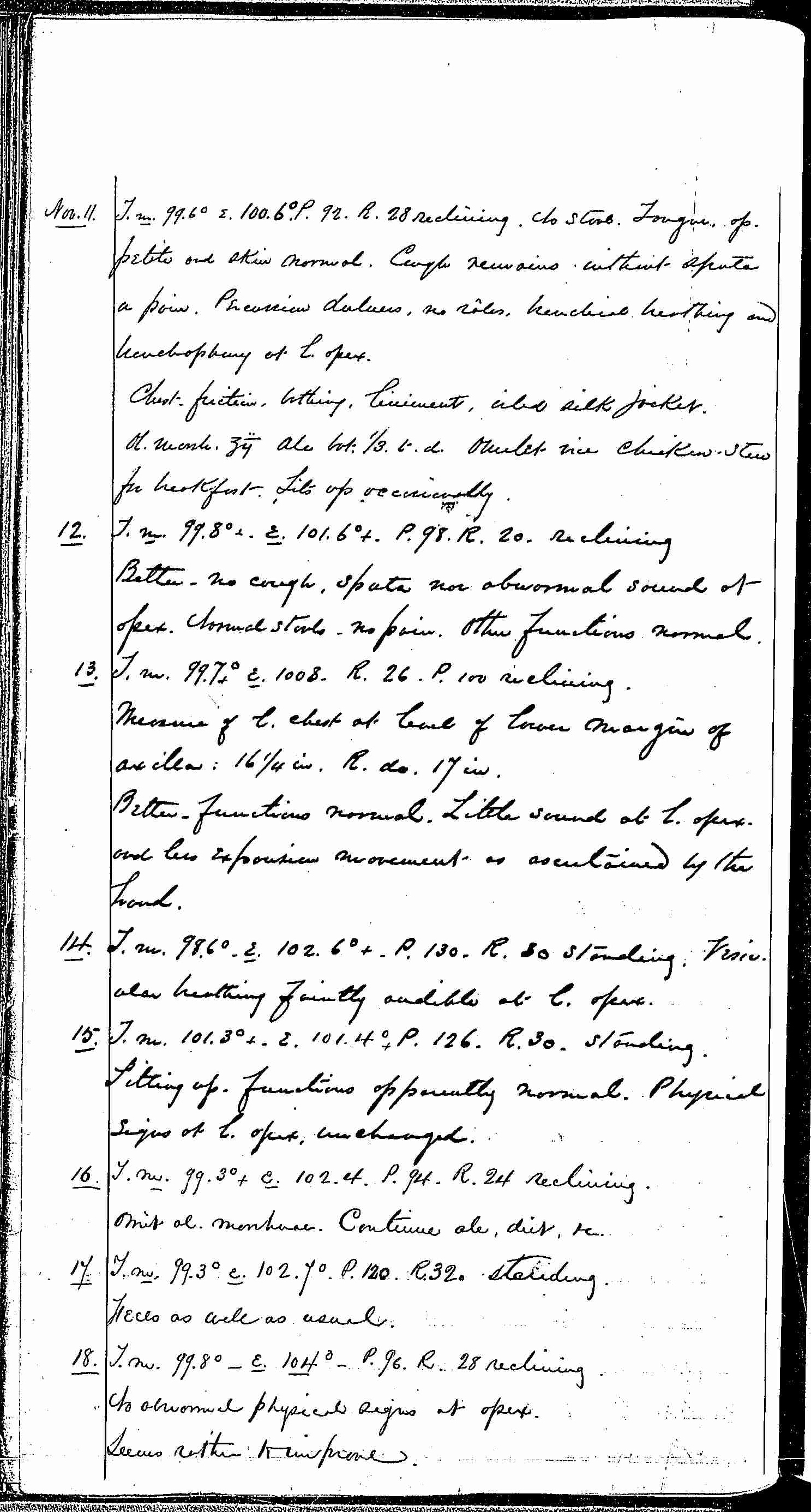 Entry for Richard Forn (page 6 of 21) in the log Hospital Tickets and Case Papers - Naval Hospital - Washington, D.C. - 1868-69