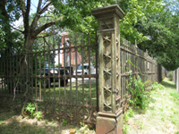 Fence - Southwest Corner - June 29, 2010