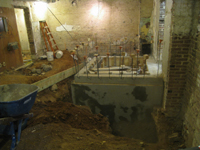Ground Floor (Basement) - Elevator base - September 22, 2010