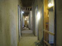 First Floor - Corridor looking to east - December 2, 2010