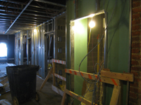 Third Floor--Corridor looking west from elevator - December 28, 2010