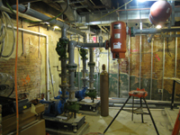 Ground Floor--Mechanical room - February 1, 2011