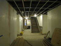 Ground Floor--view toward north in corridor - February 18, 2011