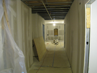 Third Floor--View to east in corridor - March 15, 2011