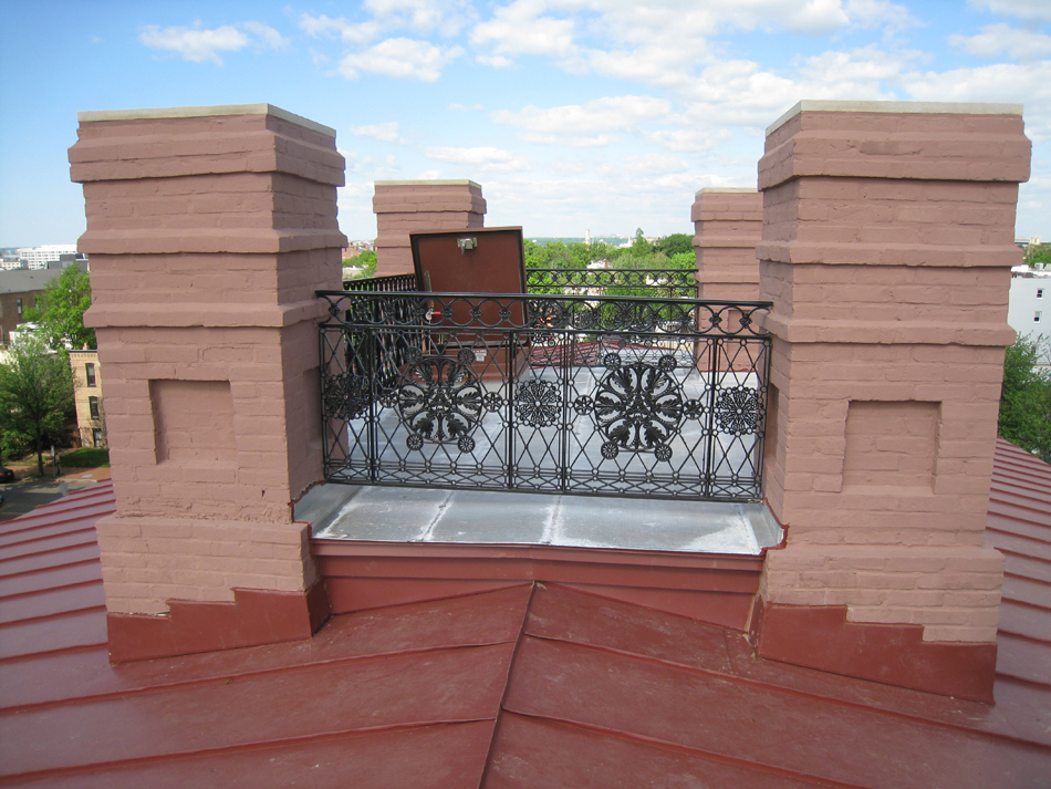 Roof--View of Widow's Walk looking west - April 29, 2011