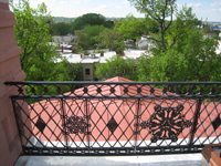 Roof--Looking south from Widow's Walk - April 29, 2011