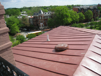 Roof--Looking northeast from Widow's Walk - April 29, 2011