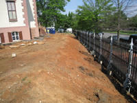 Grounds--Area along Pennsylvania Ave. looking west - May 23, 2011