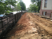 Grounds--Area Along Pennsylvania Ave. looking east - May 23, 2011