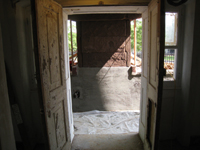 Ground Floor (Basement) --North entrance - May 23, 2011