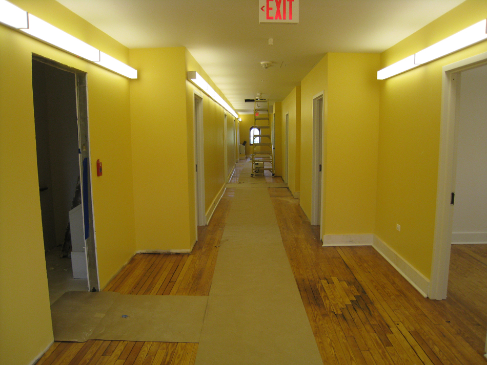Third Floor--View of corridor from east looking west - June 2, 2011