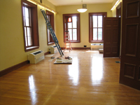First Floor--North east corner room - June 10, 2011