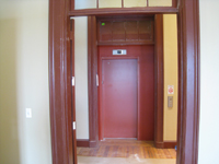 Second Floor--Entrance to elevator - June 10, 2011