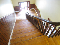 Third Floor--Finished main staircase - June 10, 2011
