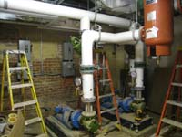 Ground Floor (Basement) --Mechanical room - June 17, 2011