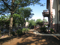 Grounds--South east side - June 29, 2011
