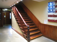 Ground Floor--Stair to first floor - November 16, 2011