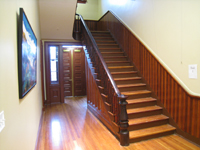 First Floor--Stair to second floor - November 16, 2011