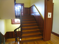 Second Floor--Stair to third floor - November 16, 2011