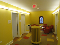 Third Floor--East end of corridor - November 16, 2011