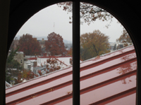 Third Floor--View out of south room - November 16, 2011