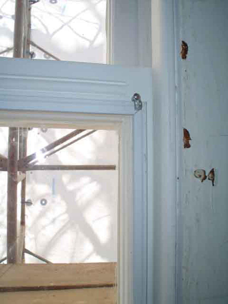 Restoration update april 30 2006 for Interior storm windows